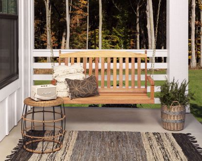 Picture of Danks Hardwood Porch Swing